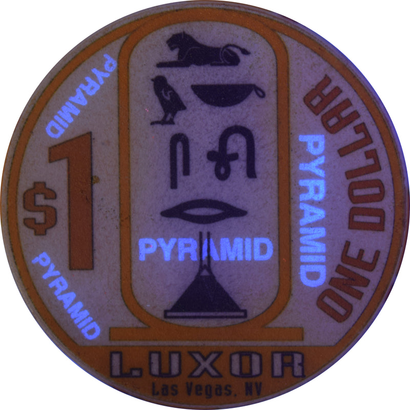 Luxor Casino Las Vegas Nevada $1 Chip 1995