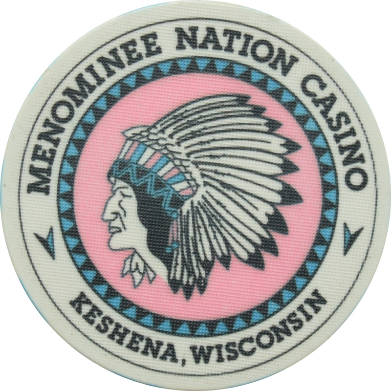 Menominee Nation Casino Keshena WI $1 Chip