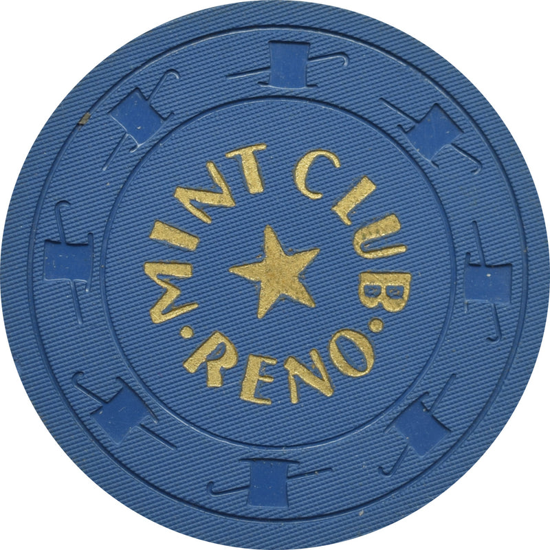 Mint Club Casino Reno Nevada $20 Chip 1958