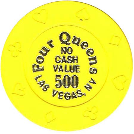 Four Queens 500 (no cash) chip