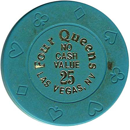 Four Queens 25 (no cash) chip