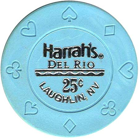 Harrah's Del Rio Casino Laughlin 25cent Chip