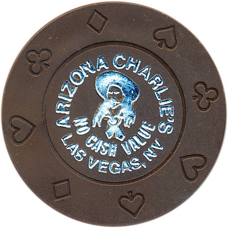 Arizona Charlies Las Vegas NCV Brown Chip 1989