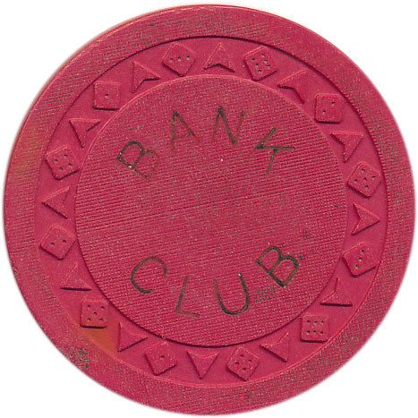 Bank Club Reno Red Chip 1951