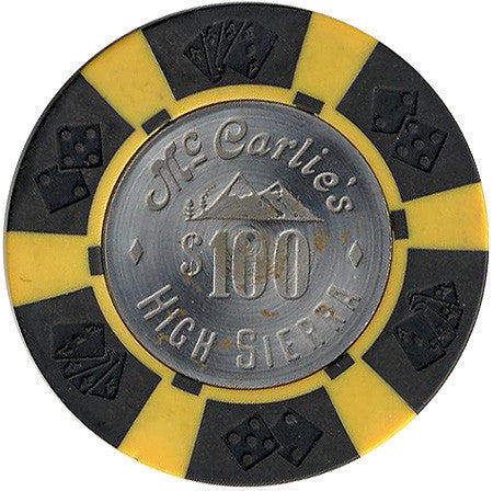 High Sierra Casino Sparks NV $100 Chip 1977