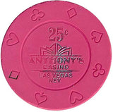 Anthony's Casino 25 cent Chip - Spinettis Gaming - 1