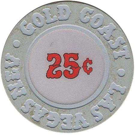 Gold Coast 25 cent chip 1990's