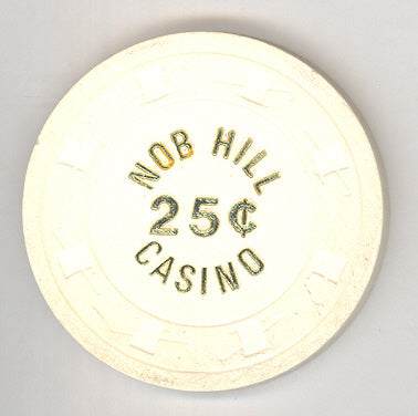 Nob Hill Casino Las Vegas NV 25 Cent Chip LCV 1979