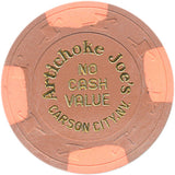Artichoke Joe's Carson City 5 NCV Chip 1980