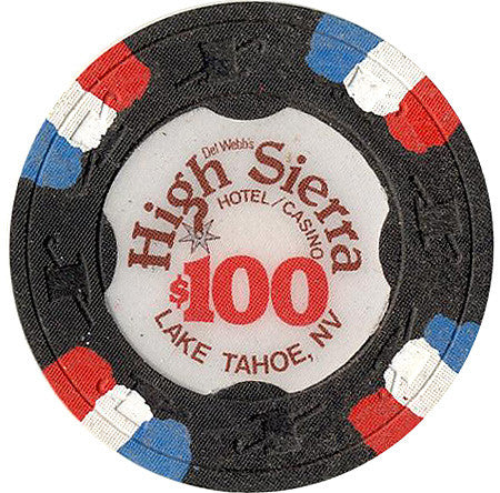 High Sierra $100 chip - Spinettis Gaming - 1