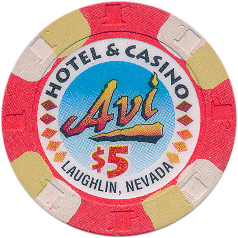 Avi Laughlin Casino $5 Chip 1995