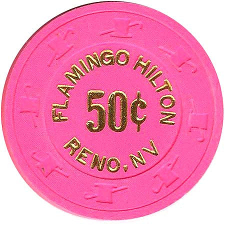 Flamingo 50cent chip - Spinettis Gaming