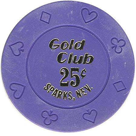 Gold Club 25 chip