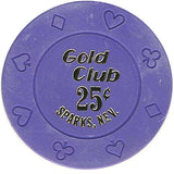 Gold Club 25 chip - Spinettis Gaming - 1