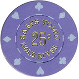 Sam's Town Golden River 25 (purple) chip - Spinettis Gaming - 2