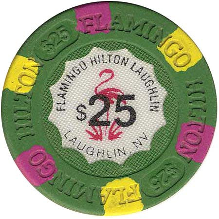Flamingo Hilton $25 chip