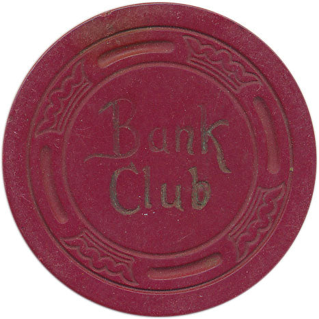 Bank Club Reno Red Chip 1942