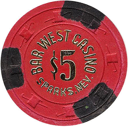 Bar West Casino $5 Chip - Spinettis Gaming - 1
