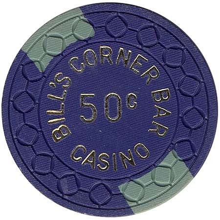 Bill's Corner Bar Casino 50cent Chip