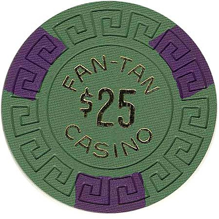 Fan-Tan $25 Chip - Spinettis Gaming - 1