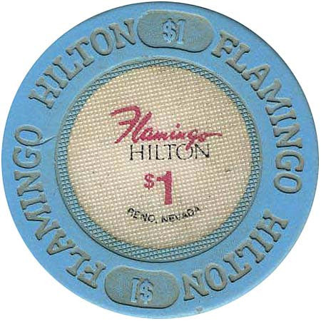 Flamingo Hilton $1 chip