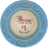 Flamingo Hilton $1 chip - Spinettis Gaming - 1