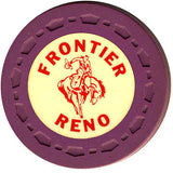 Frontier Club Roulette (purple) chip - Spinettis Gaming - 1