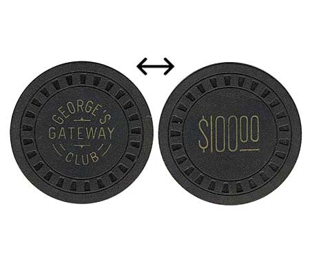 George's Gateway Club $100 chip - Spinettis Gaming - 1