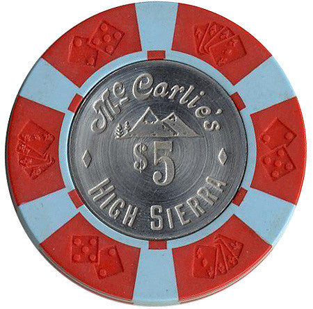 High Sierra Casino Sparks NV $5 Chip 1977