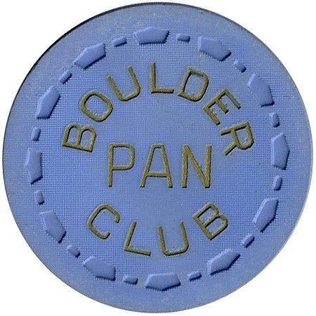 Boulder Club Pan (Blue) Chip - Spinettis Gaming - 1