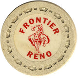 Frontier Club Roulette (cream) chip - Spinettis Gaming - 1
