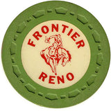 Frontier Club Roulette (green) chip - Spinettis Gaming - 1