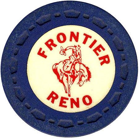 Frontier Club Roulette (navy) chip