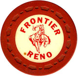 Frontier Club Roulette (red) chip - Spinettis Gaming - 1