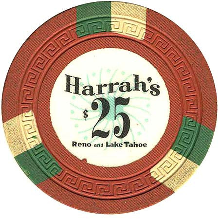 Harrah's $25 orange chip - Spinettis Gaming - 1