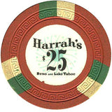 Harrah's $25 orange chip - Spinettis Gaming - 2