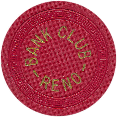 Bank Club Reno 10 cent Chip 1949