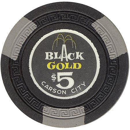 Black Gold Casino $5 Chip - Spinettis Gaming - 1