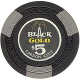 Black Gold Casino $5 Chip - Spinettis Gaming - 2
