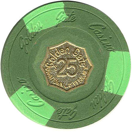 Golden Gate $25 (Green) chip