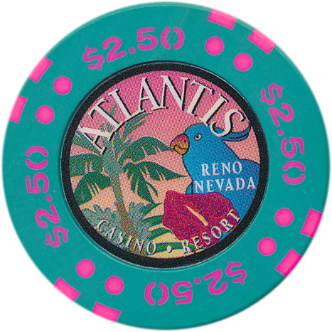 Atlantis Casino Reno NV $2.50 Chip 1996