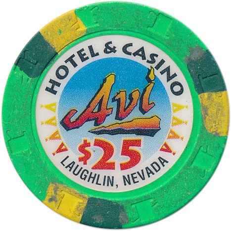 Avi Laughlin $25 Chip 1995