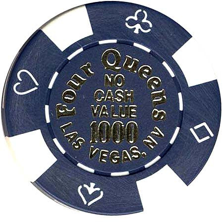 Four Queens 1000 (no cash) chip