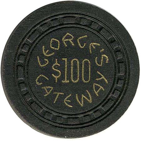 George's Gateway Club $100 chip
