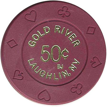 Golden River 50cent (Purple) chip - Spinettis Gaming