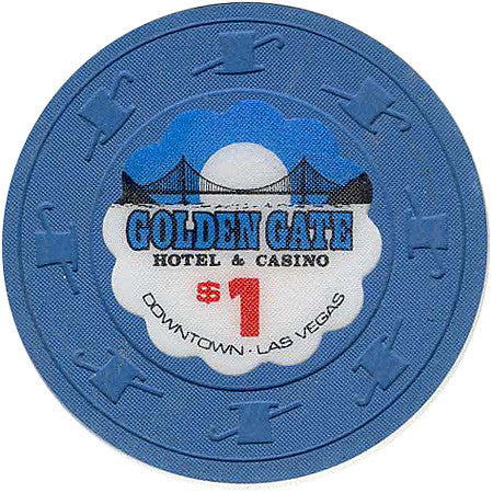 Golden Gate Casino Las Vegas $1 chip 1979