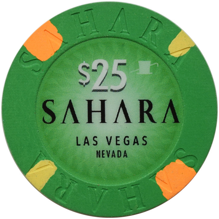 Sahara Casino Las Vegas NV $25 Chip 2019