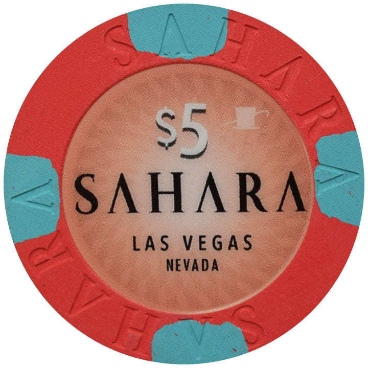 Sahara Casino Las Vegas NV $5 Chip 2019