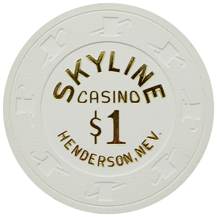 Skyline Casino Henderson NV $1 Chip 2014