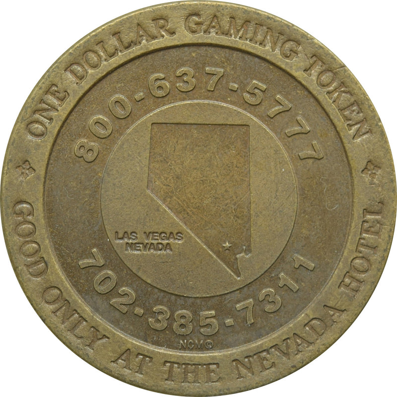 Nevada Hotel Casino Las Vegas NV $1 Token 1992